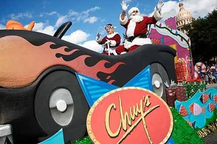 UHCU Sponsors 30th Annual Chuy's Parade