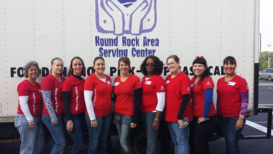 Team United Heritage at Coats for Kids 2013
